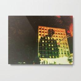 City Man Metal Print
