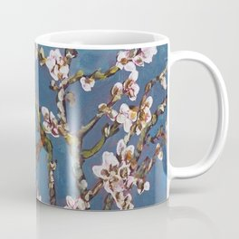 Vincent van Gogh Pink Blossoming Almond Tree (Almond Blossoms) Coffee Mug