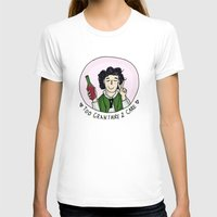 grantaire T-shirts featuring Too Grantaire 2 Care by AlyBee