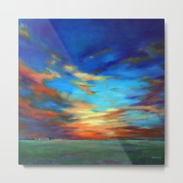 Sunset in the Heartland Metal Print