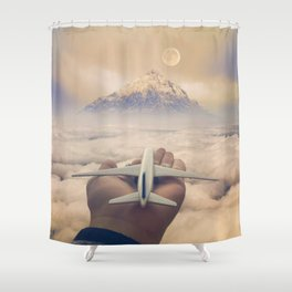 Control Your Dreams Shower Curtain