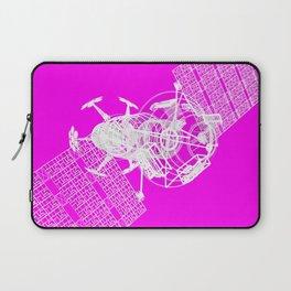 Explorer White on Pink Laptop Sleeve