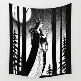 Into The Woods Wall Tapestry