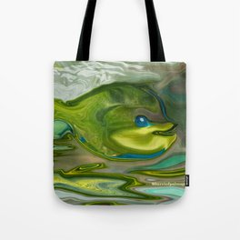 Smilen Sam The Fish...For Kids Tote Bag