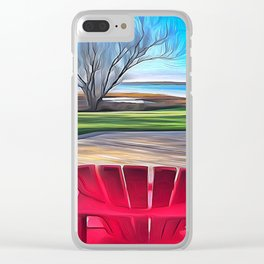 Home away from home Clear iPhone Case