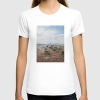 large T-shirts featuring Running Horses by Kevin Russ