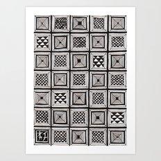 Textile 3 Art Print