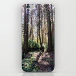 Yosemite woods iPhone Skin