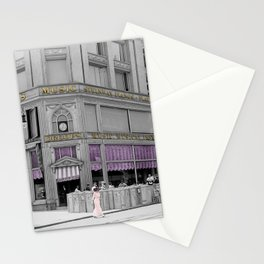 Vintage Music Store Stationery Cards