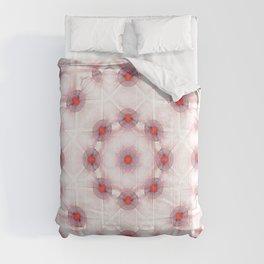 Abstract developing egg kaleidoscope fractal Comforters