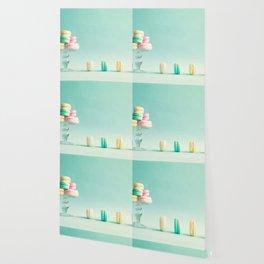 Macarons, macaroons still life, pop art Wallpaper