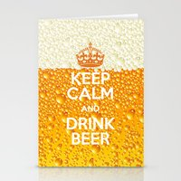 beer Stationery Cards featuring Beer by Text Guy