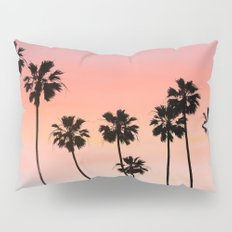 Blushing Palms Pillow Sham