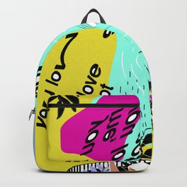 Saturated thoughts Backpack
