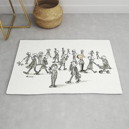 Unplugged Urban Art Rug