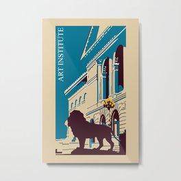Art Institute Chicago Metal Print