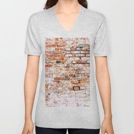 Bricked Unisex V-Neck