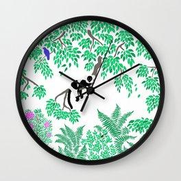 Rainforest Madagascar Wall Clock