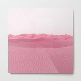 Pink Dunes Metal Print