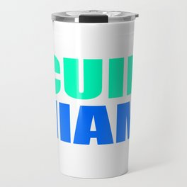 CUIN MIAMI Travel Mug