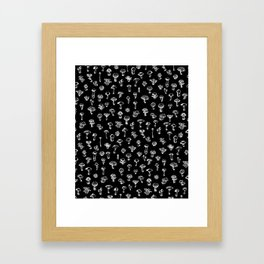Magical Mushrooms Framed Art Print