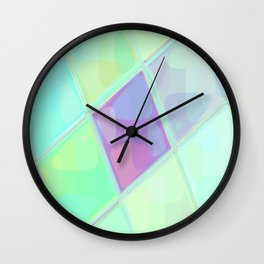 Re-Created Mirrored SQ LV by Robert S. Lee Wall Clock