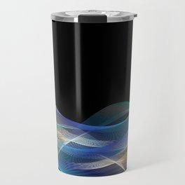 Colored lines Travel Mug
