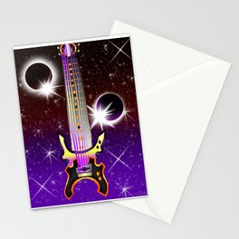 Fusion Keyblade Guitar #130 - Lunar Eclipse & Total Eclipse Stationery Cards