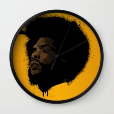 Questlove 2.0 Wall Clock