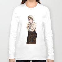 nurse Long Sleeve T-shirts featuring Nurse by CokecinL