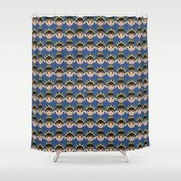 Iconic Headdress - East Java Shower Curtain