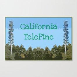 California TelePine Canvas Print