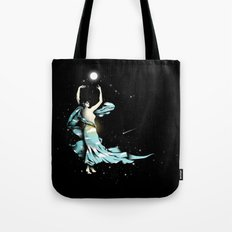 Dance Into The Moonlight Tote Bag