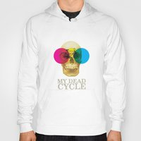 cycle Hoodies featuring CYCLE by Nazario Graziano