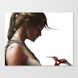 The Tomb Raider Canvas Print