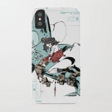 Aqua Nunchucks Slim Case iPhone X