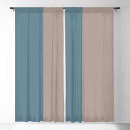 Parable to Behr Blueprint Color of the Year and Accent Colors Vertical Stripes 13 Blackout Curtain