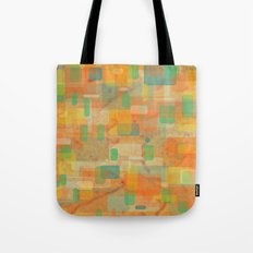 water passed through here Tote Bag
