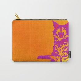 Screaming Kitten (Gradient) Carry-All Pouch