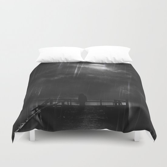 A promise is a promise Duvet Cover
