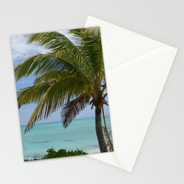 Tropical Paradise With Palm Stationery Cards