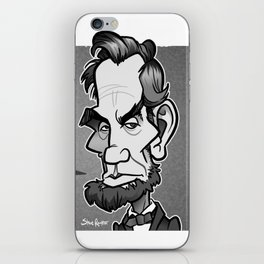 Abe's Intenet Advice iPhone Skin
