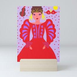 Catherine - The era of W.Shakespeare Mini Art Print