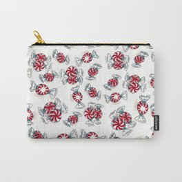 Holiday Peppermints Carry-All Pouch