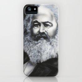 Marx: Glitter Beard iPhone Case