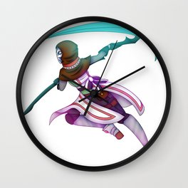 Dream Warrior Wall Clock