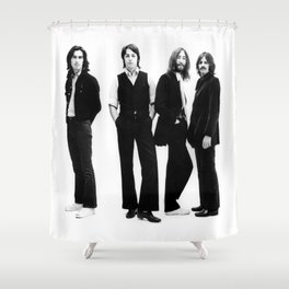 The Beat-les 1969 Shower Curtain