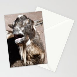 Goat singing Blessings Stationery Cards
