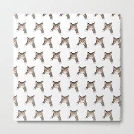 kittens pattern Metal Print