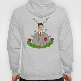 Frida Khalo Antlers and Arrows Hoody